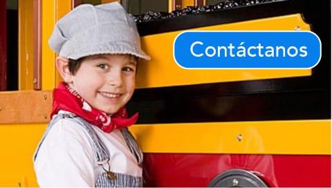 Trenes Eléctricos Infantiles para Parques Plazas y Centros Comerciales